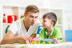 apá és fia játék